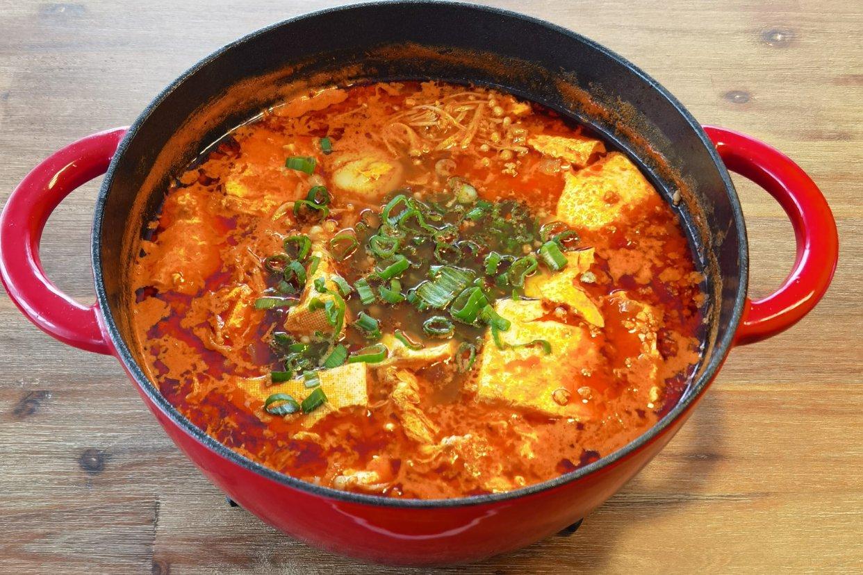 超满足一锅【韩国嫩豆腐汤】