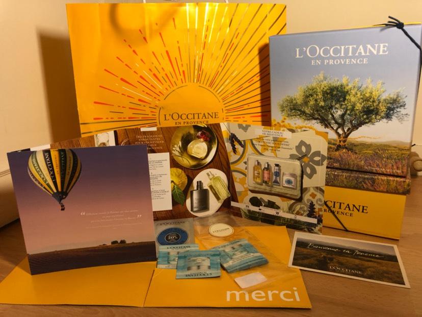 谢谢一分钱 在 L'Occitane 买的 手油终于到了