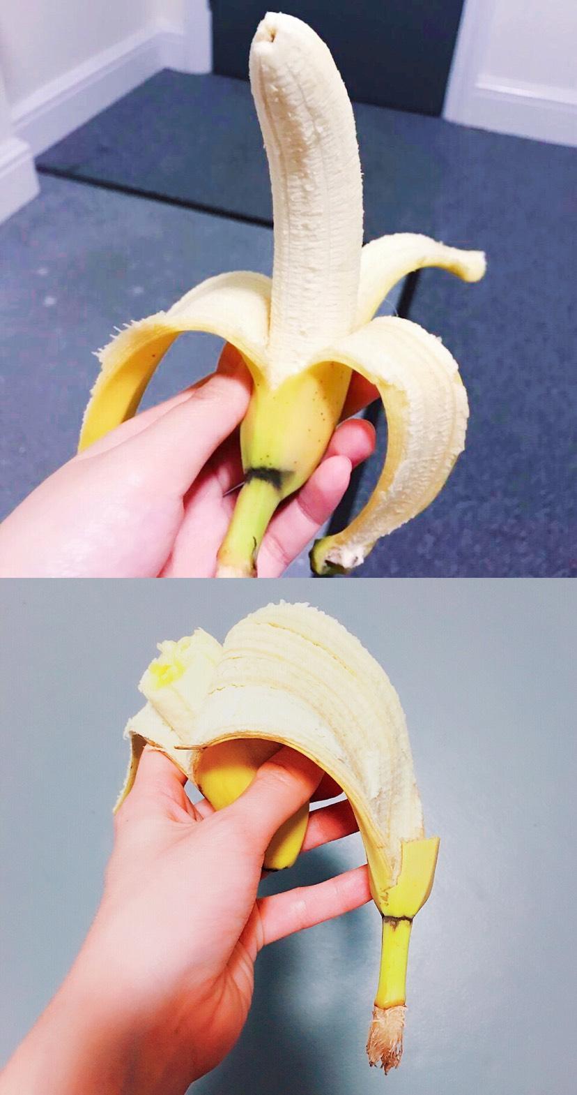 [讨论]你们香蕉🍌从哪端剥?