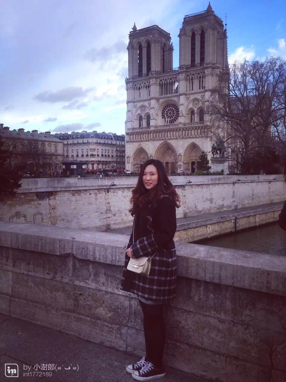 15年12月 我还是一个标准的巴黎游客