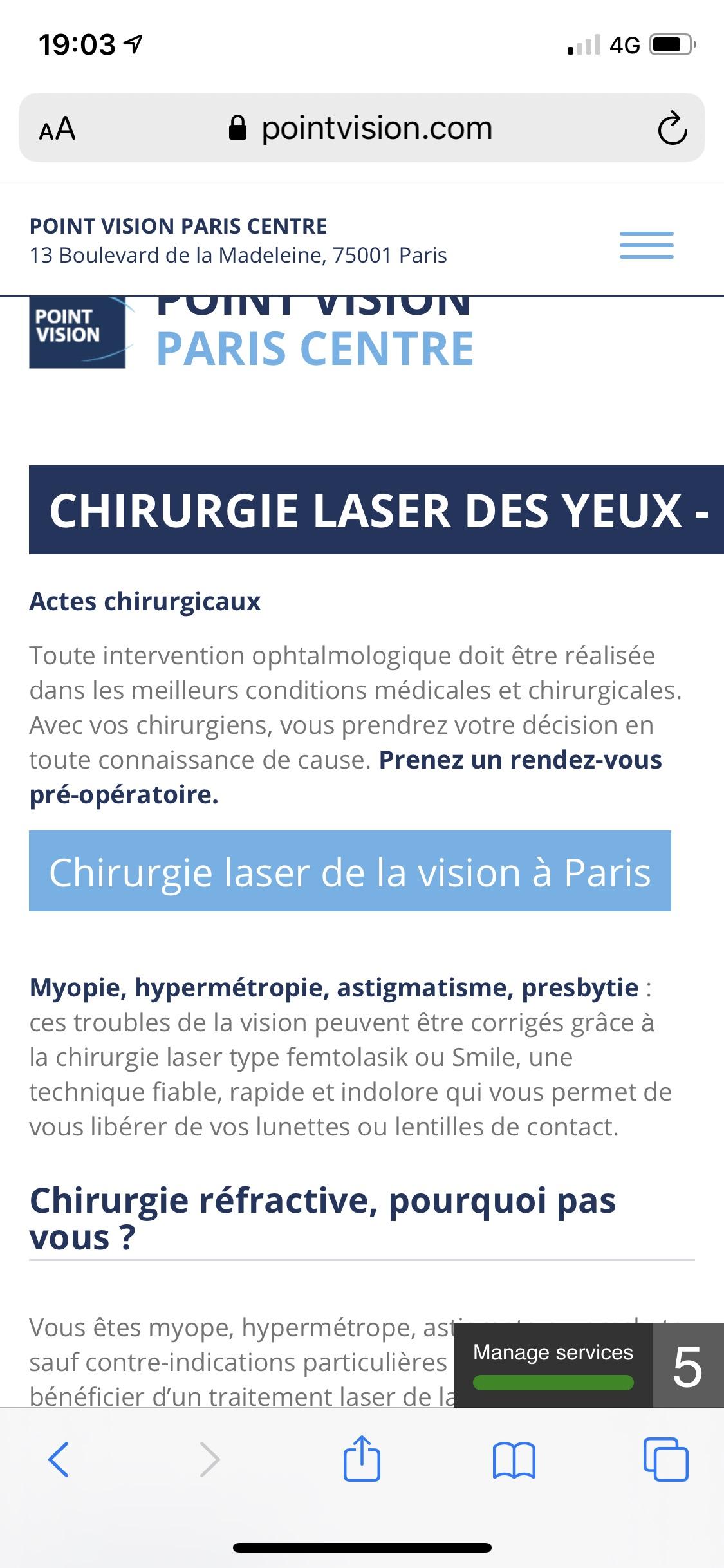 法国眼睛激光分享
