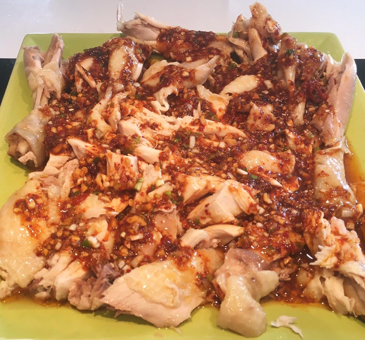 美食分享之蒜蓉鸡肉