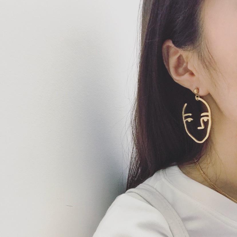 毕加索耳环 可以说是超好看啦