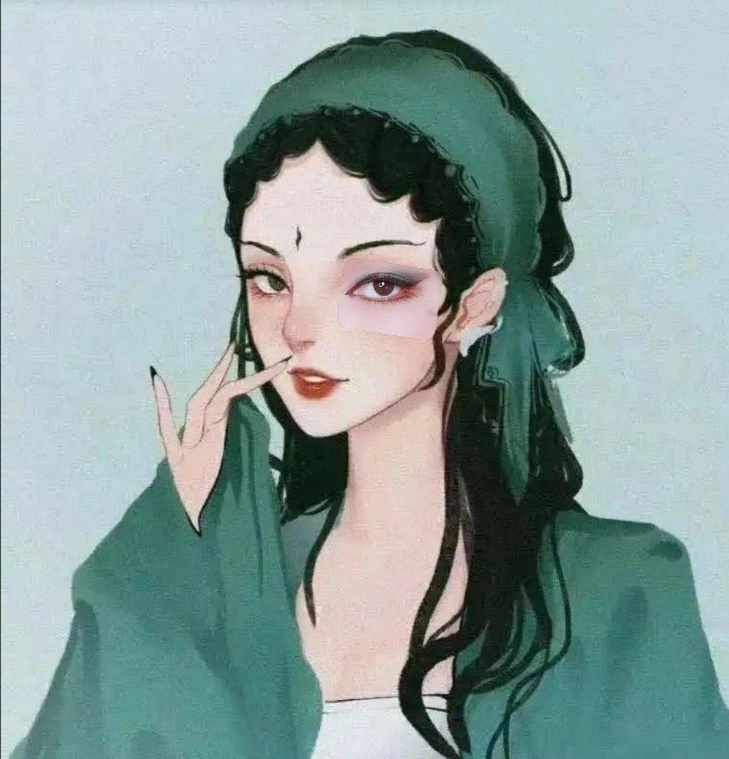 仿女神妆:妖里妖气的扭扭扭~