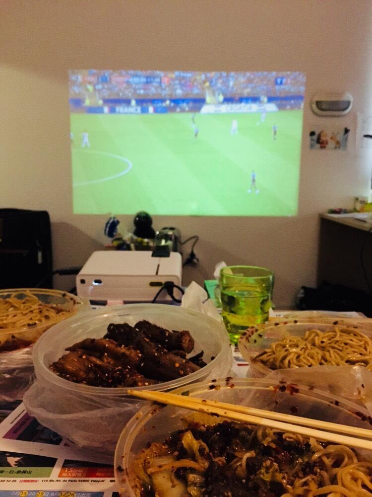 提前下团看世界杯!🇫🇷!