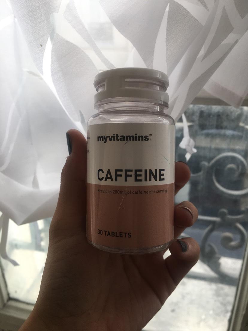 Myvitamins咖啡因片 堪比吸毒
