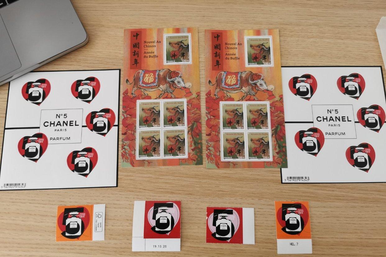 分享快乐   我的邮票终于到啦!
