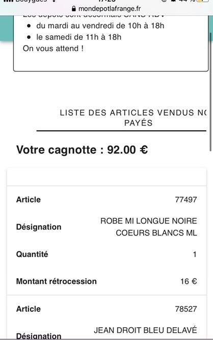 巴黎La frange à l'envers 二手寄卖店后续