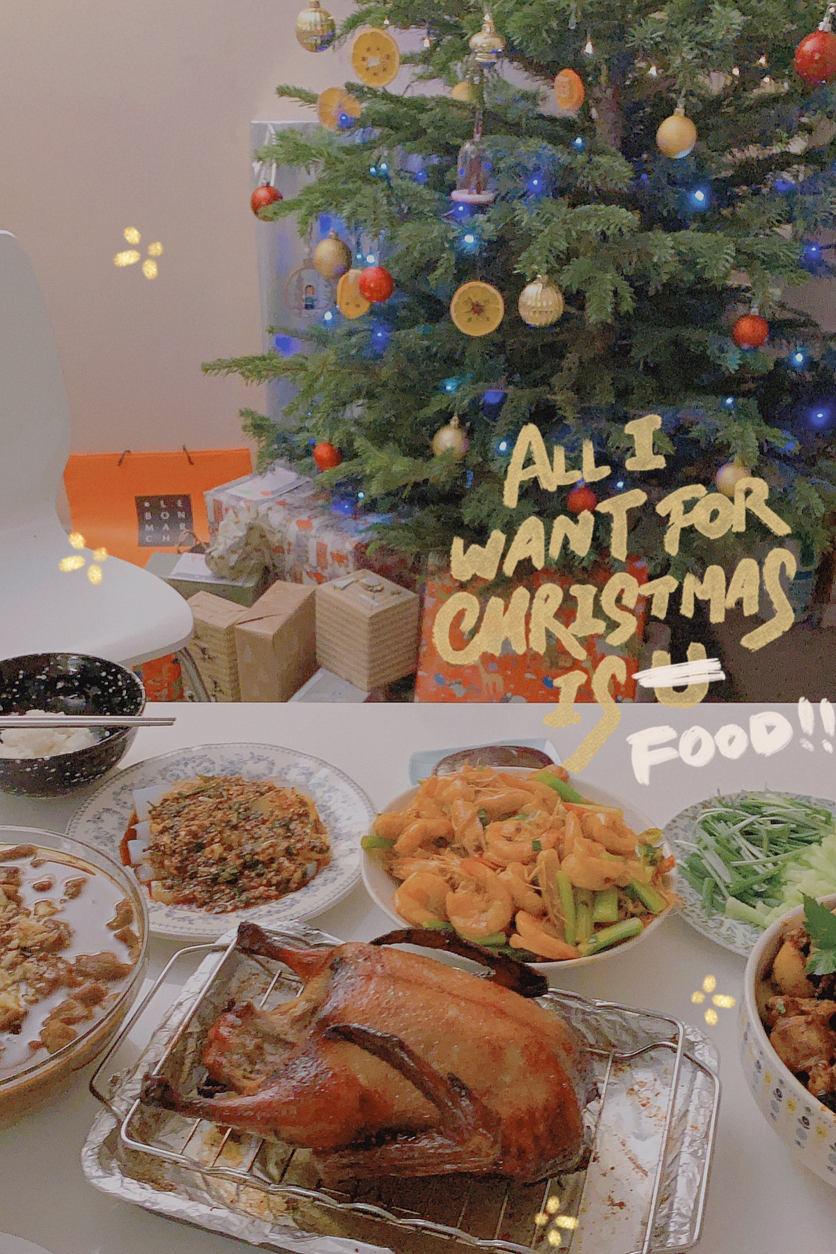 All I want for Christmas is…🍽