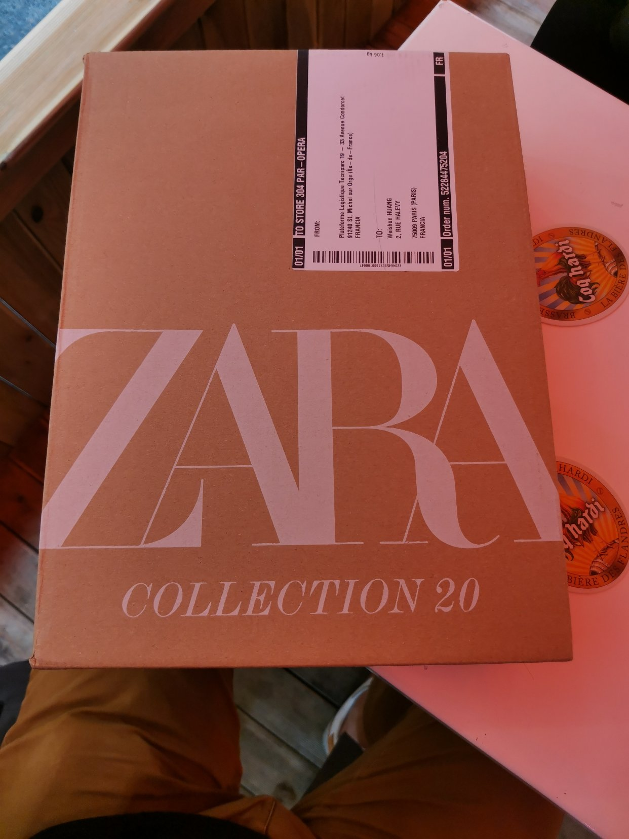 万年大牌平替ZARA的一次开箱 两款男包