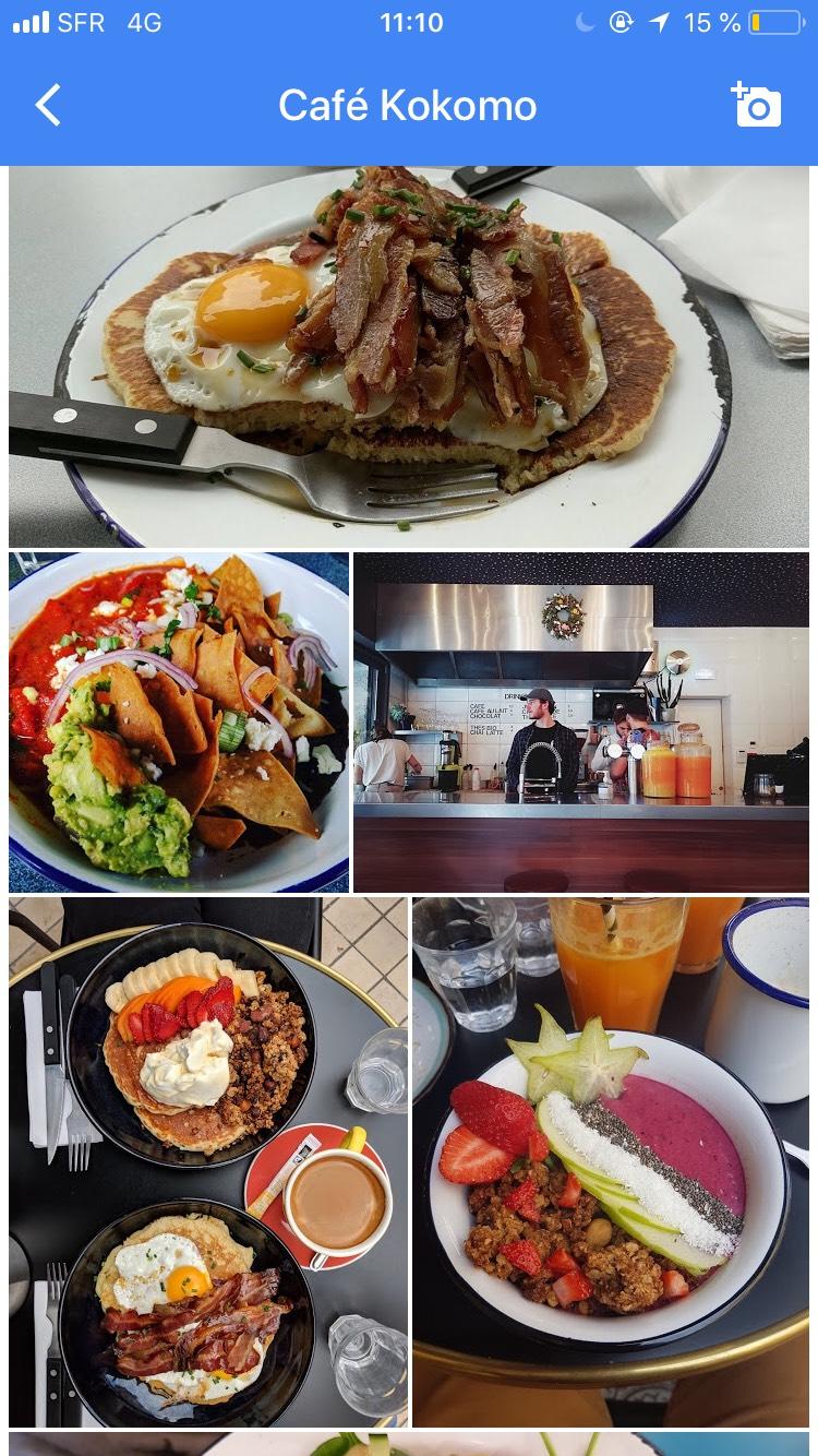 强推波尔多一家brunch店:Café Kokomo