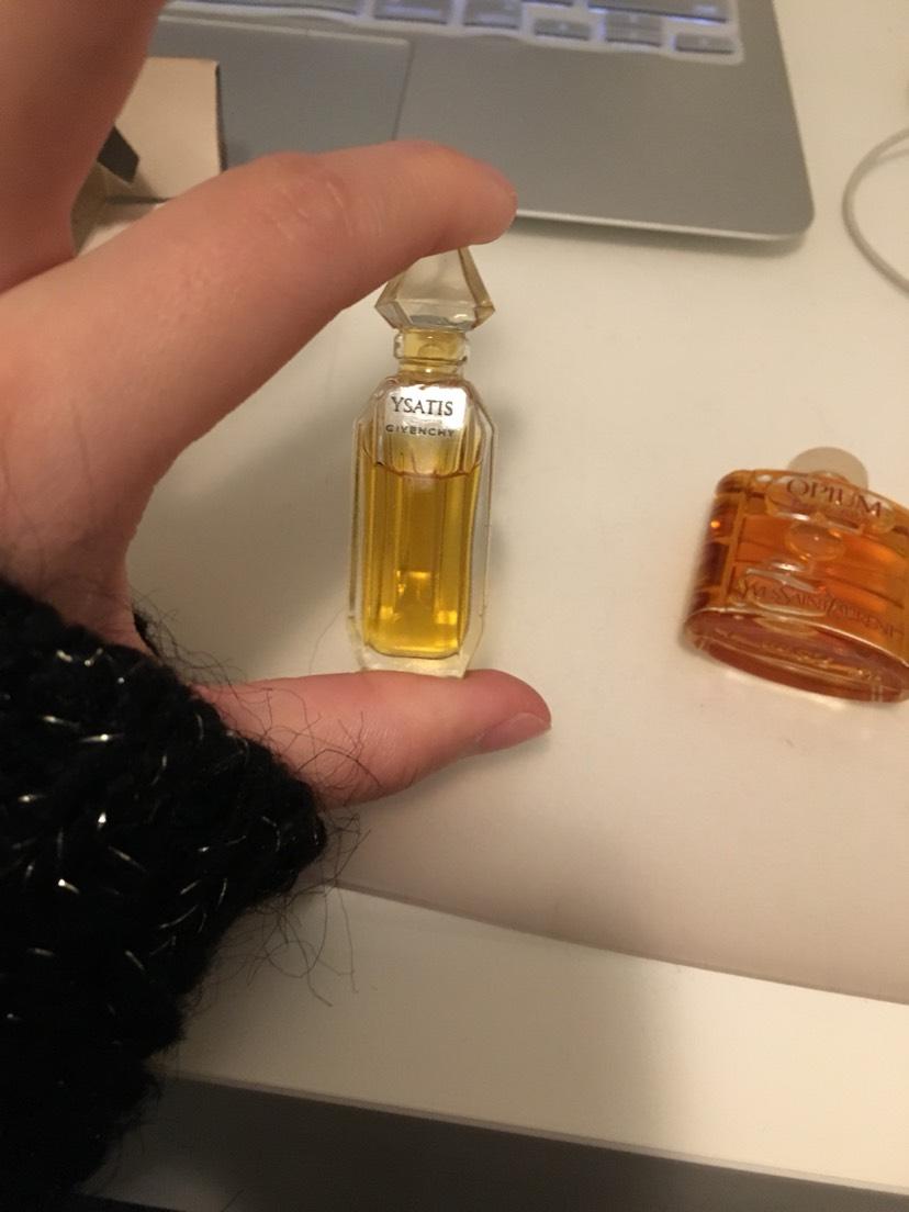 古董香水小样??
