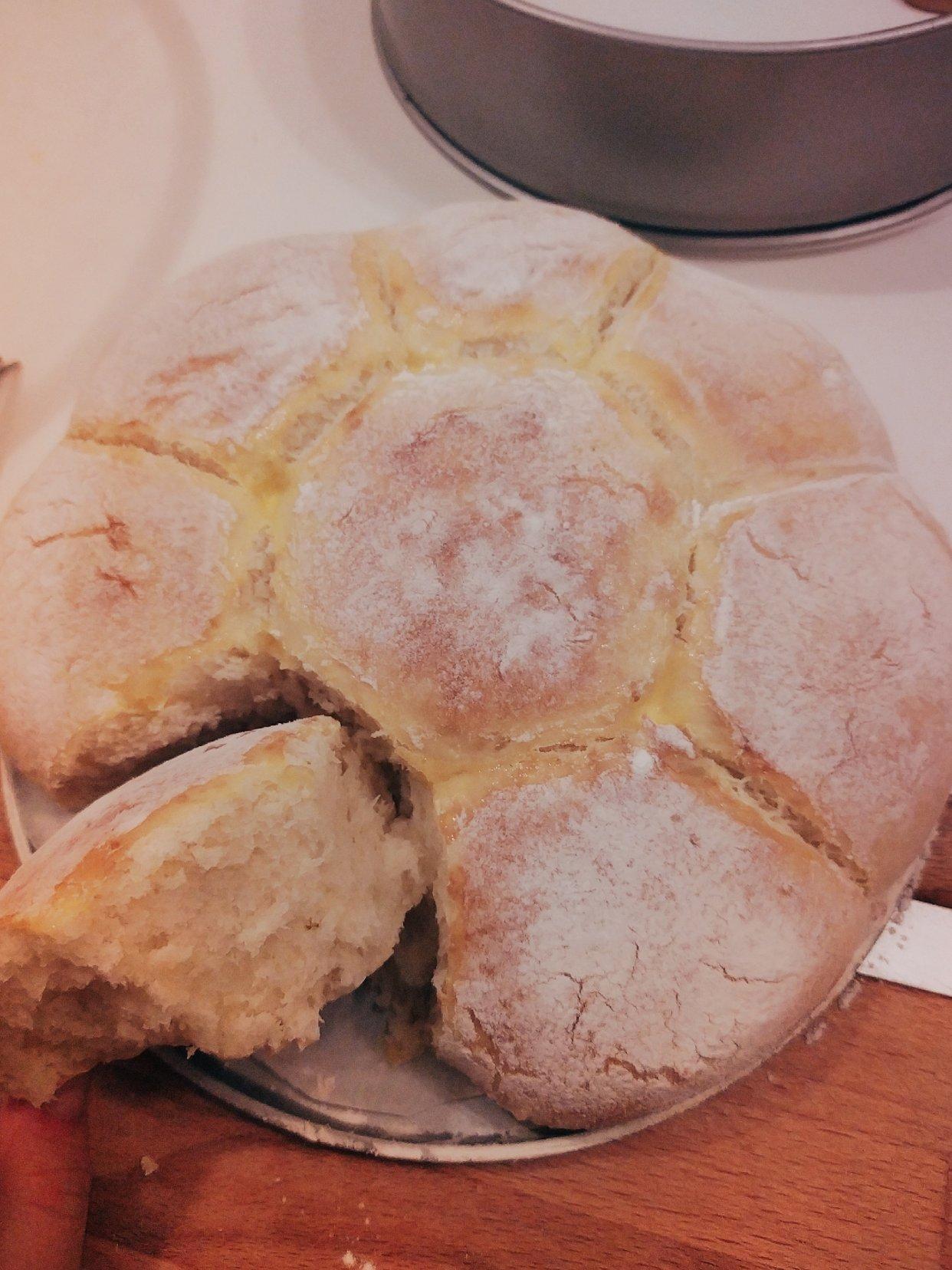 美食打卡day5:早餐来个轻乳酪面包吧