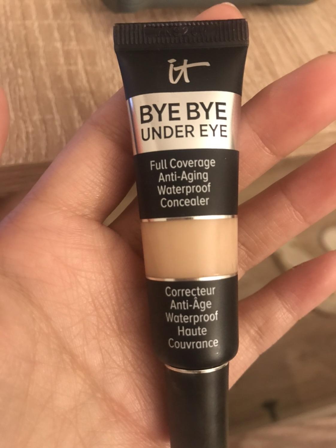 it cosmetics明星产品眼部遮瑕膏使用报告