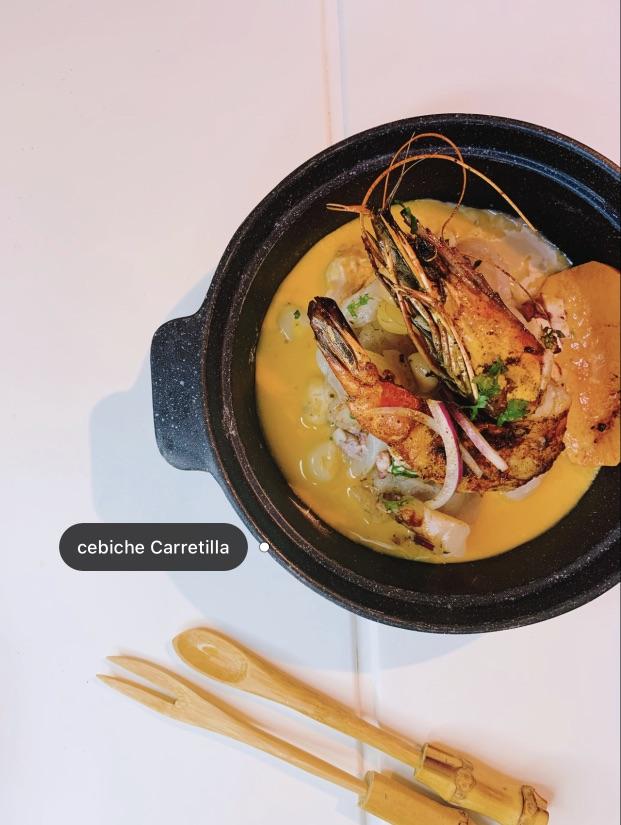 巴黎美食 3区秘鲁国民美食cebiche鱼生