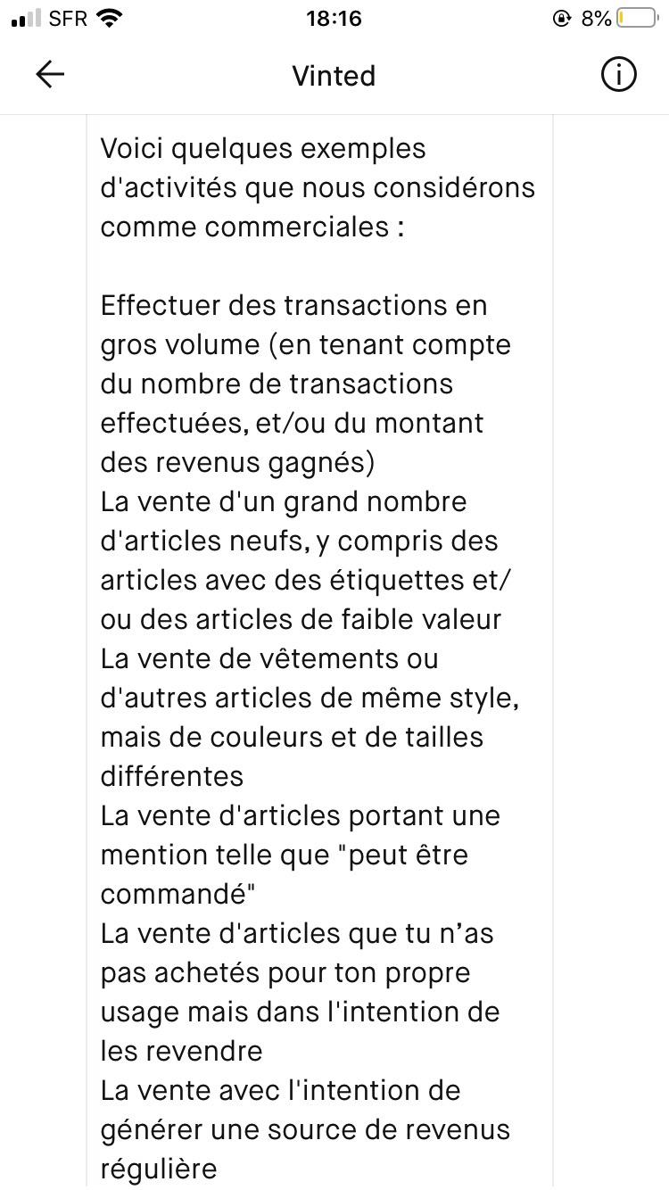Vinted 一共入账 1800€ 然后被封号的一些经验分享
