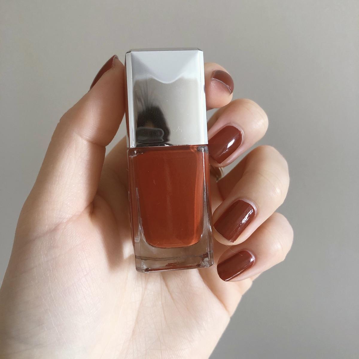 Dior指甲油新限定849!绝美枫叶红!