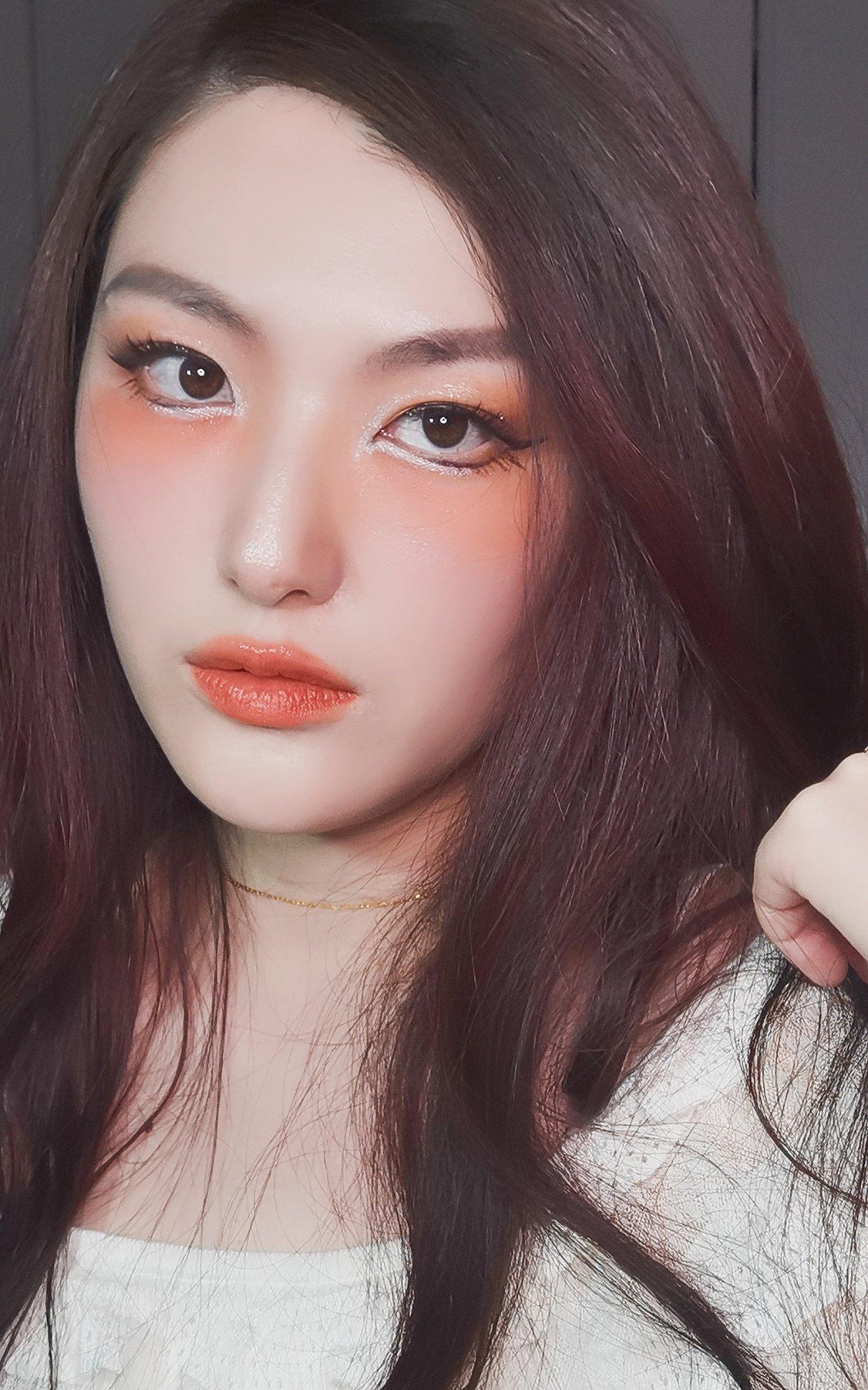 【春日新妆】化妆:人间水蜜桃