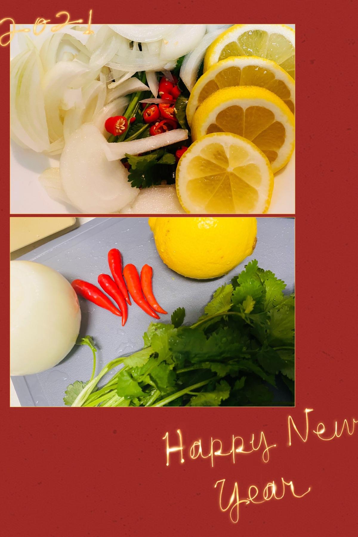 年夜饭的前菜之柠檬酸辣鸡爪爪(超级简单 超级好吃