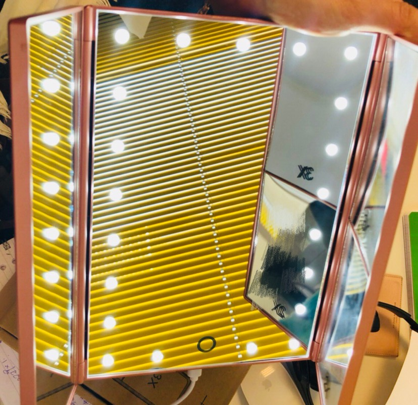 10欧的LED化妆镜!