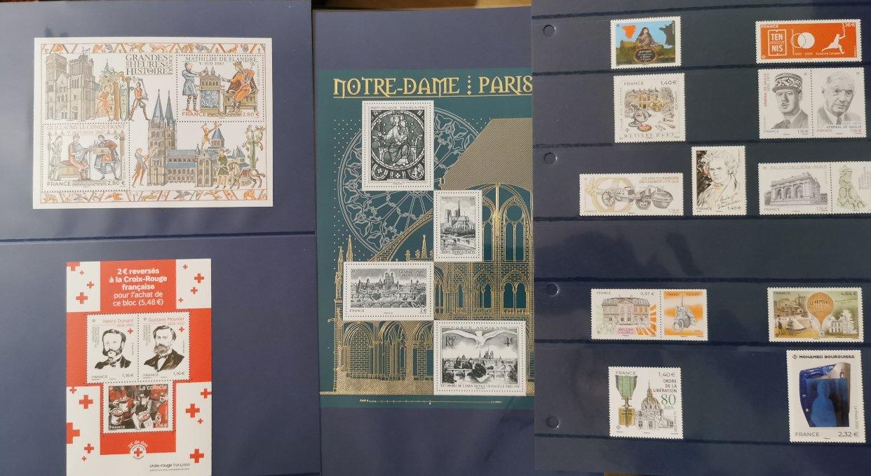 原来邮局还卖季度邮票!