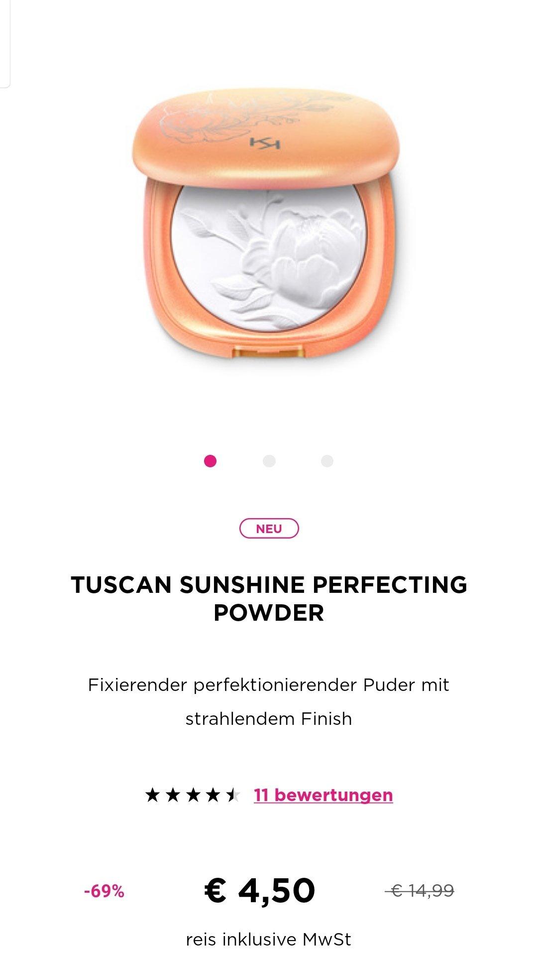 推荐KIKO今春的Tuscan系列,现在超级折扣中!