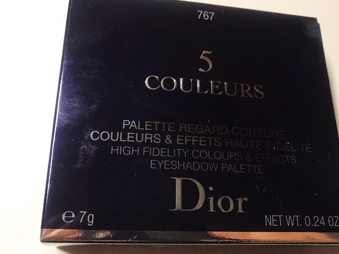 Dior五色眼影 767 inflame