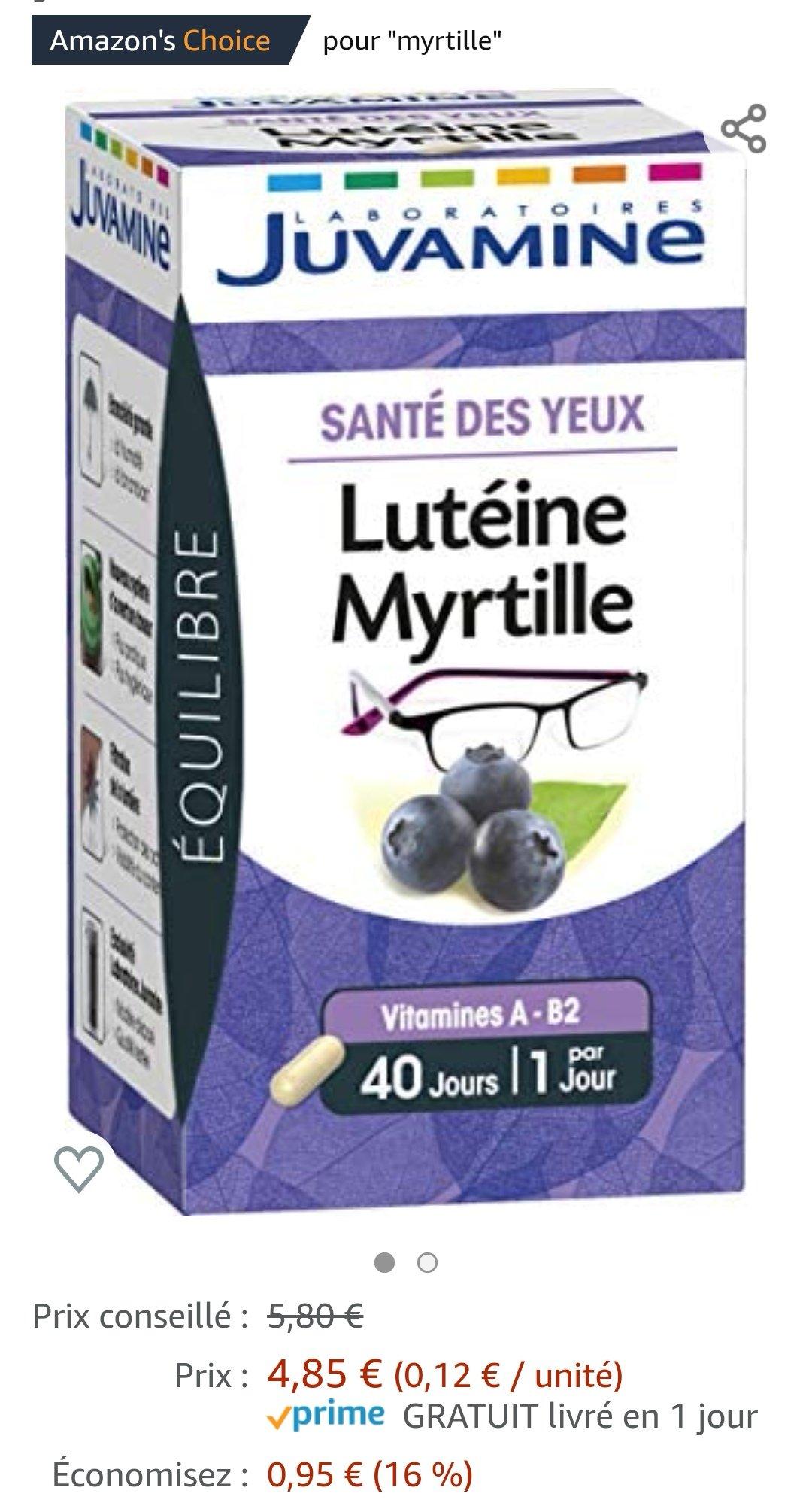 蓝莓素护眼片分享