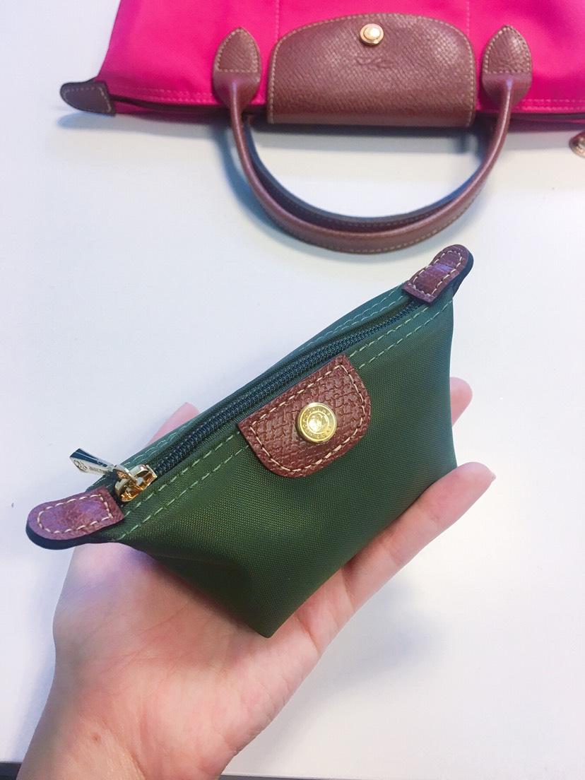 Longchamp零钱包也太可爱了吧!!