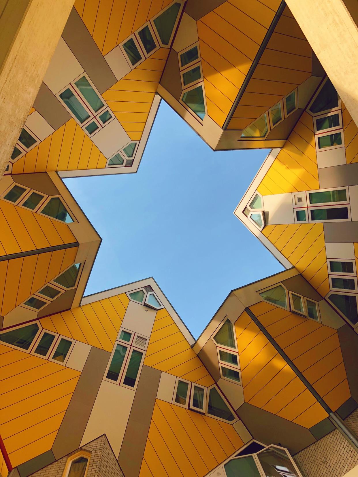 最美的荷兰鹿特丹