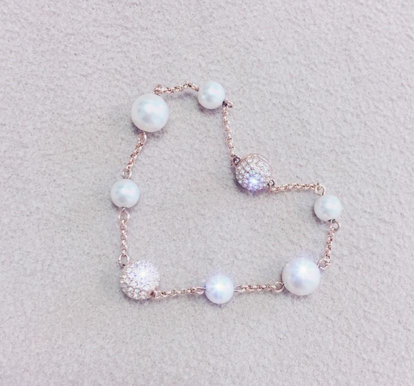施华洛世奇珍珠手链