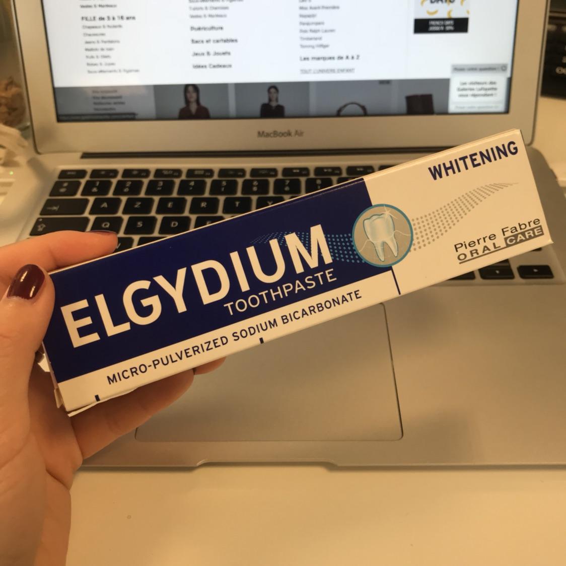一款不含氟的美白牙膏ELGYDIUM