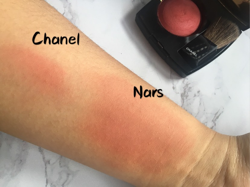 #新品# Nars限量腮红(Chanel16年限量试色对比)
