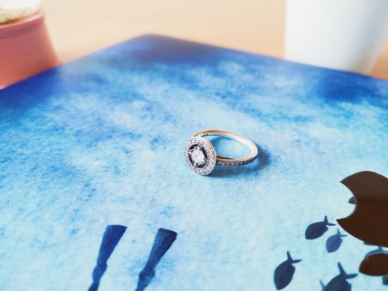 潘多拉Pandora复古魅力戒指💍,感受指尖的魔法✨