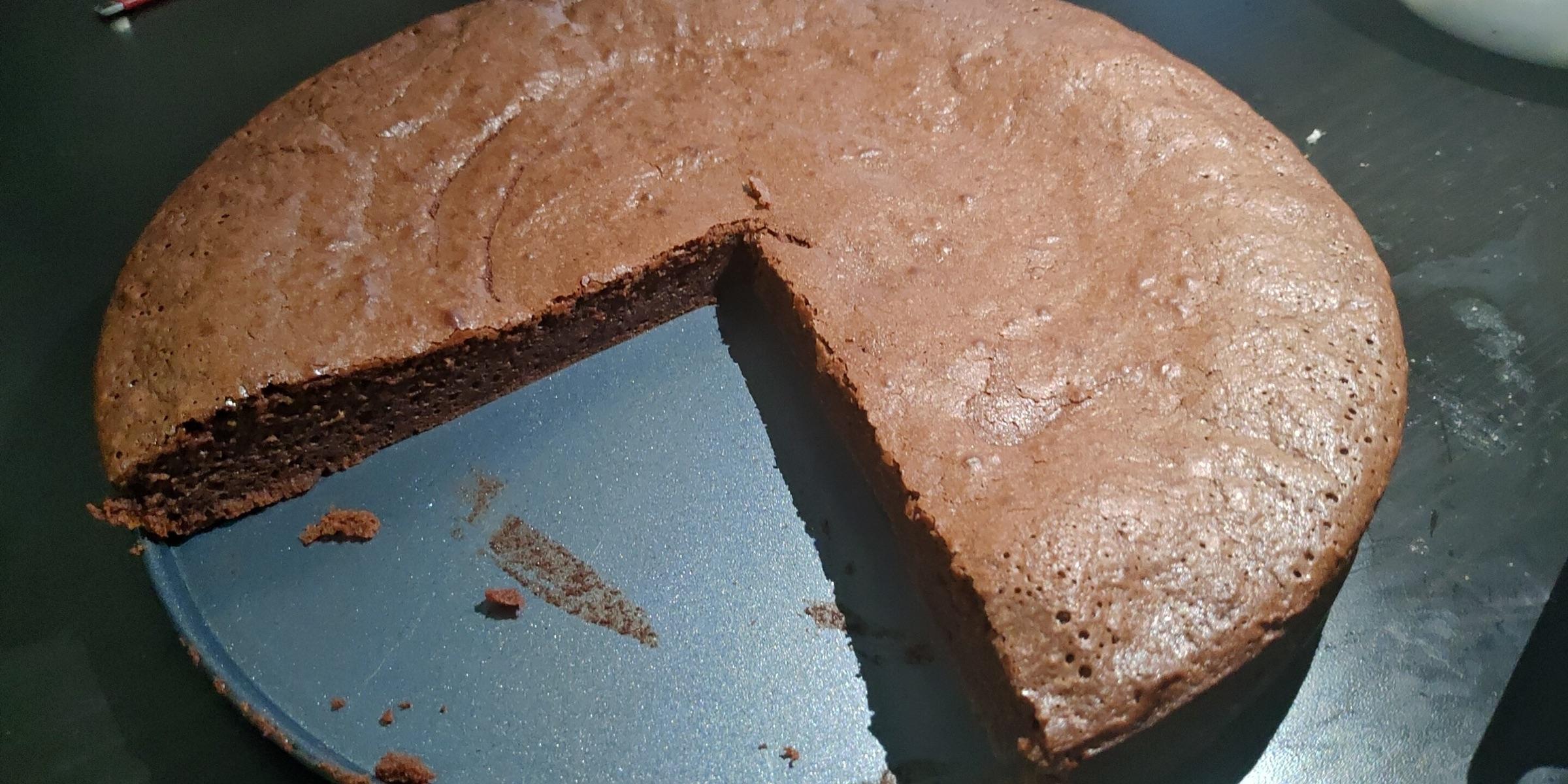 今天吃猪扒饭👀外加moelleux au chocolat