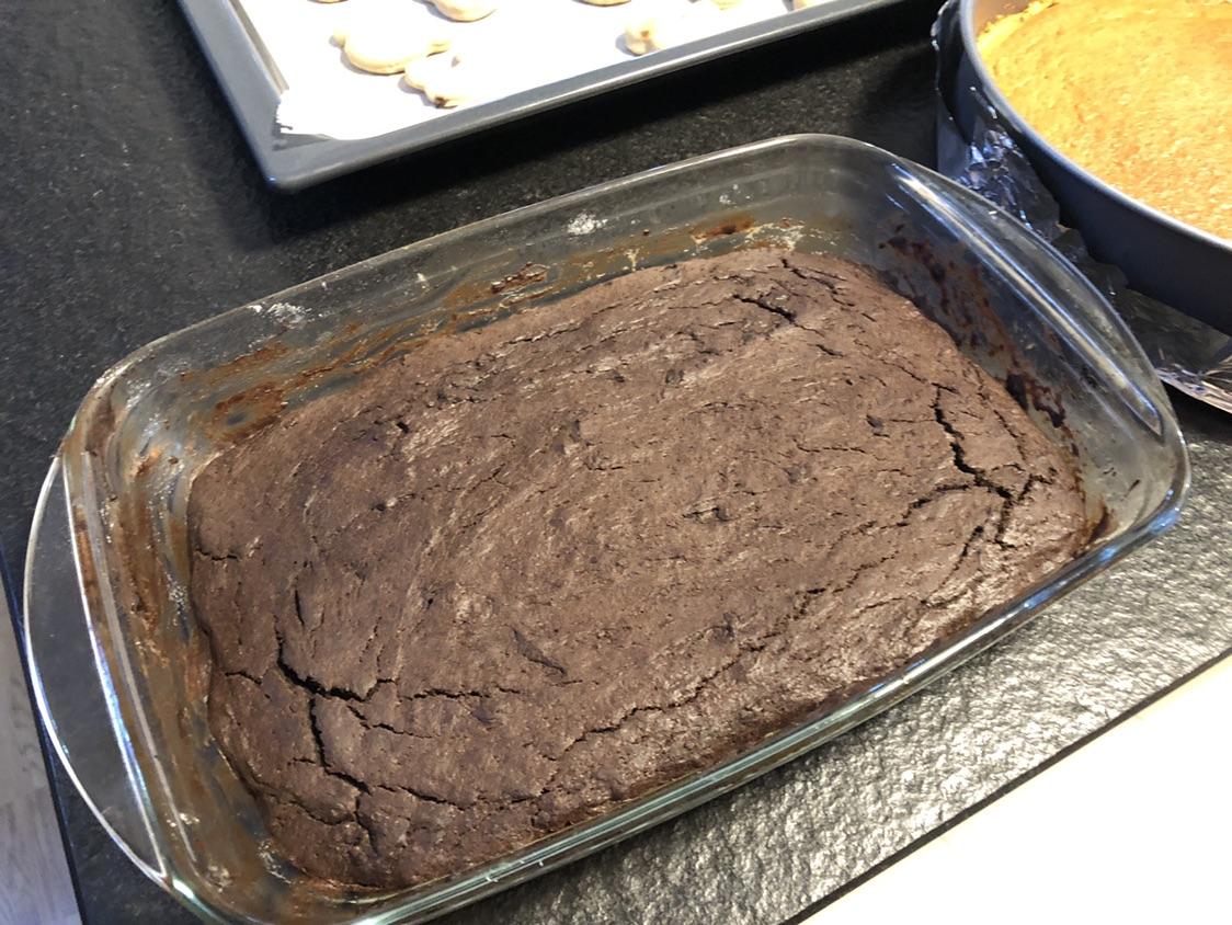 快手点心 —— 巧克力布朗尼