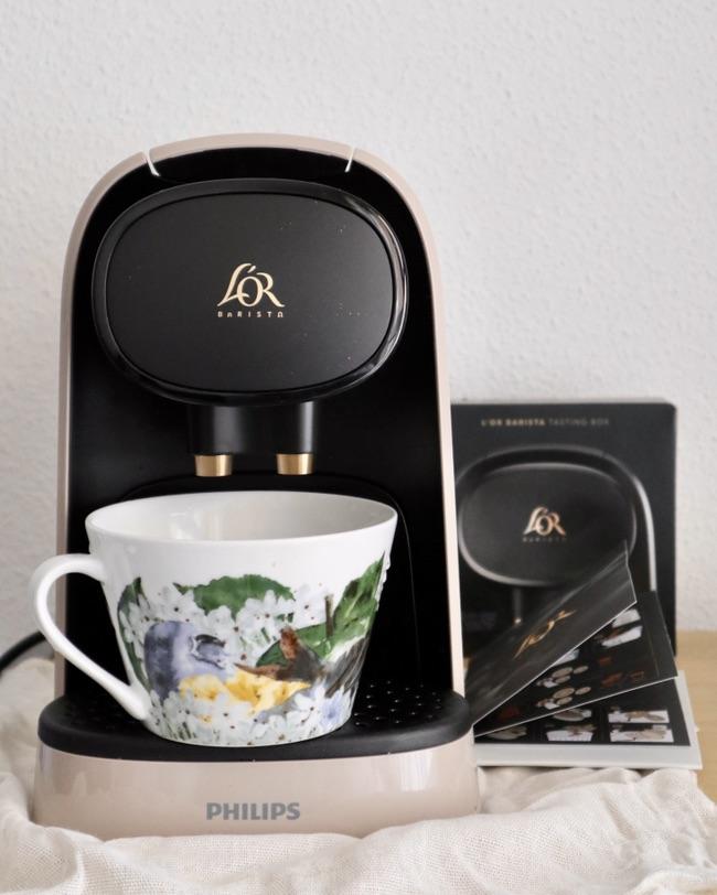 L'or咖啡机开箱☕️✨520礼物