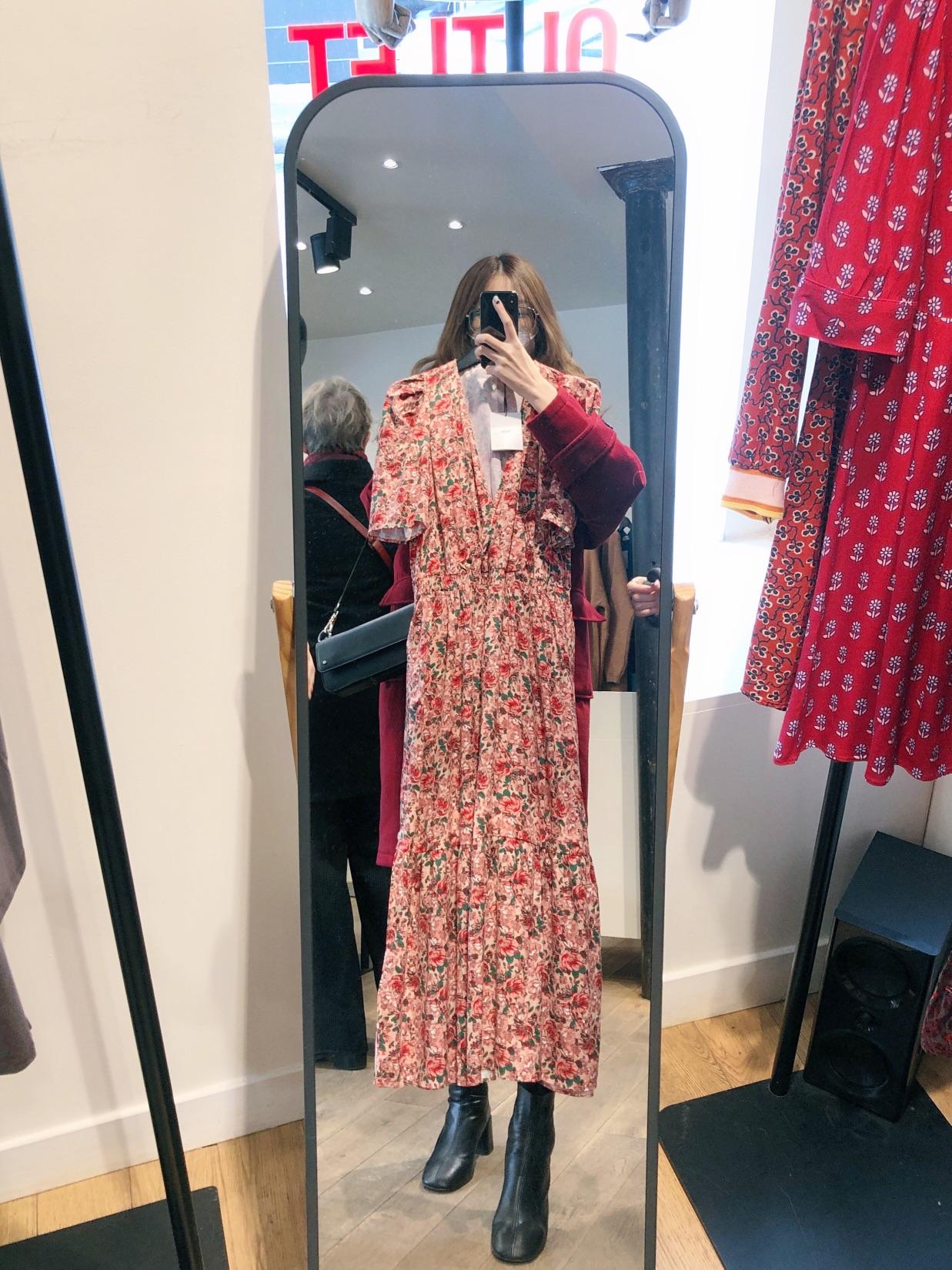 今日扫街 一家好便宜的小店长裙只要20欧?!