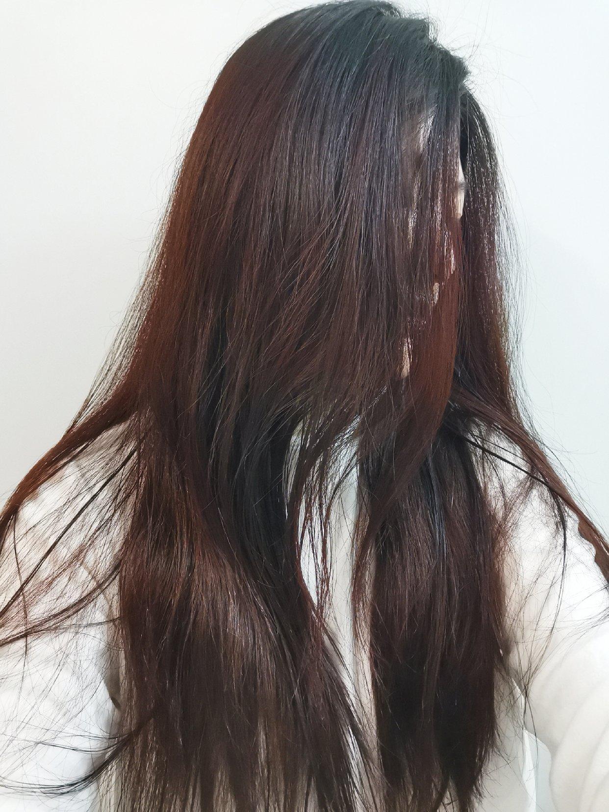 今儿晚染了个头发