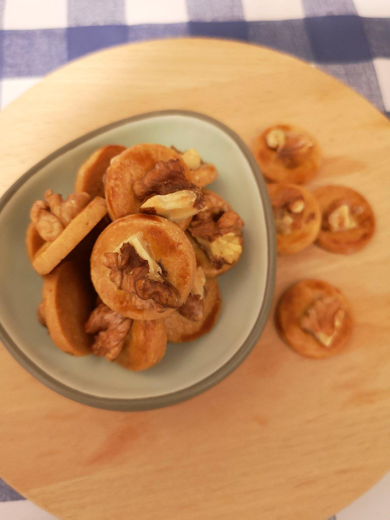 优雅食系列:核桃杏仁小小酥