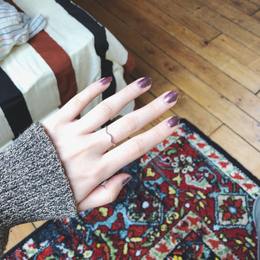 KIKOmini指甲油💅紫色星空