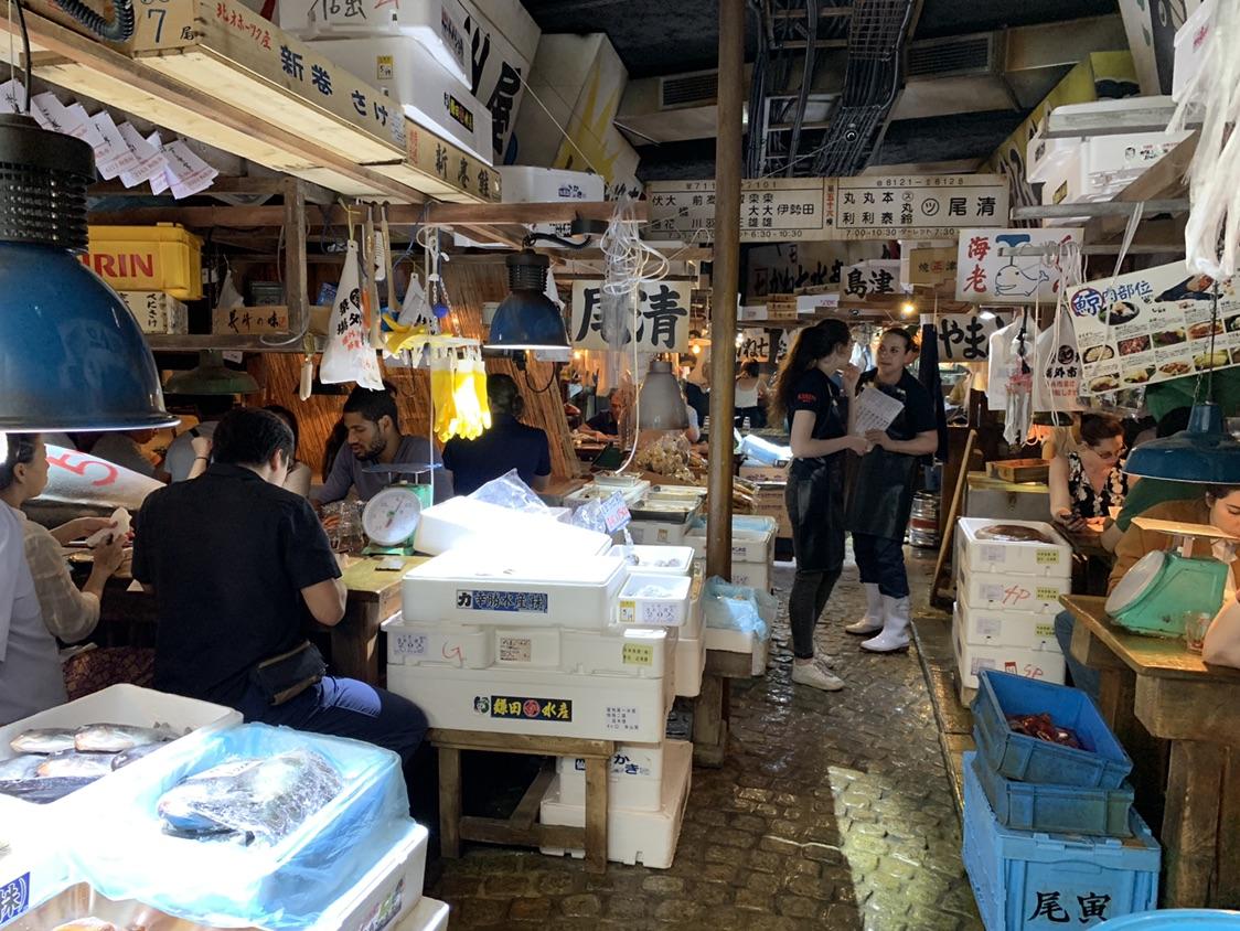 打卡巴黎的日本筑地鱼市拉面馆🐟🍜