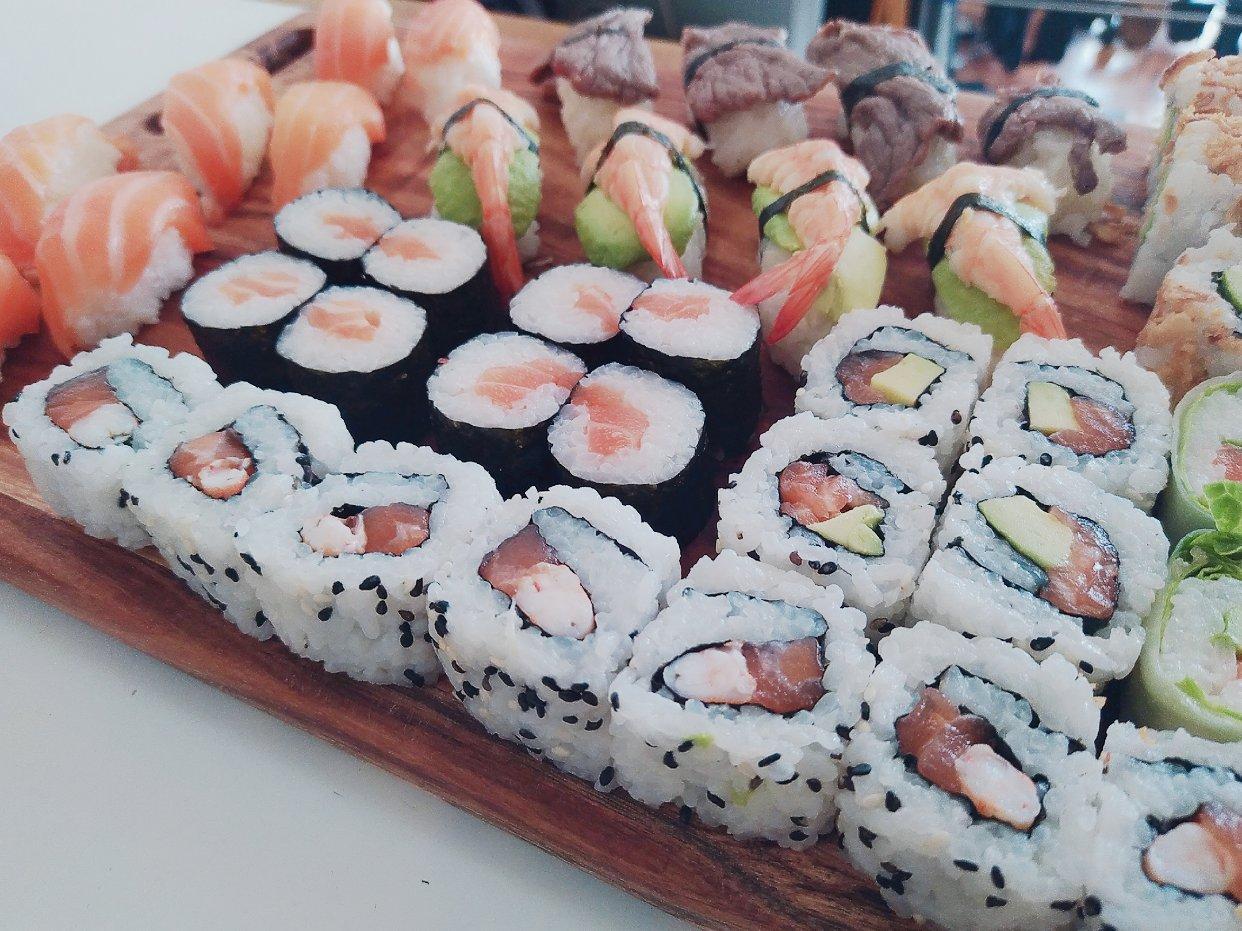 恭喜管姐实现寿司自由!