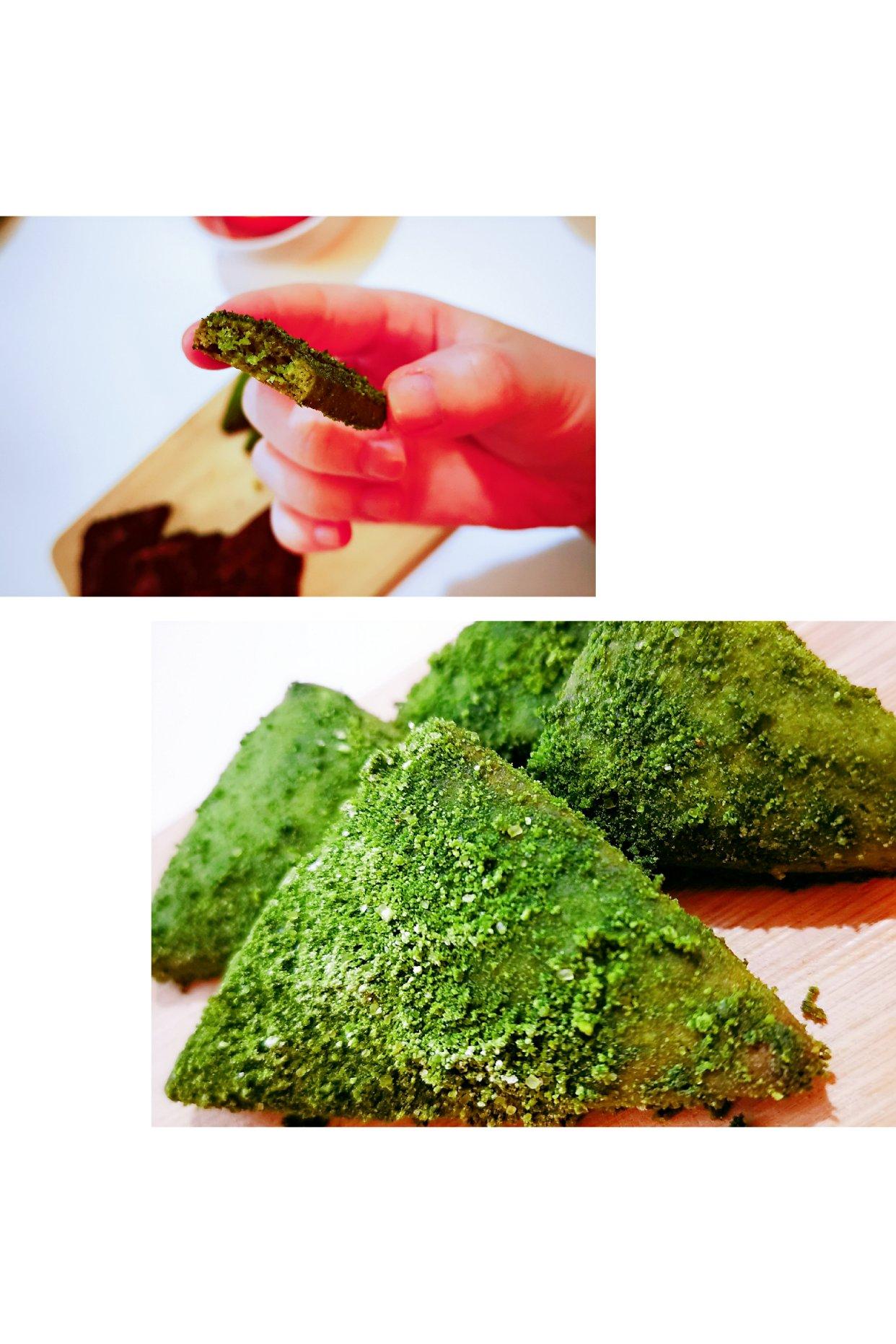 丫达的今日份下午茶:日式雪花三角酥get