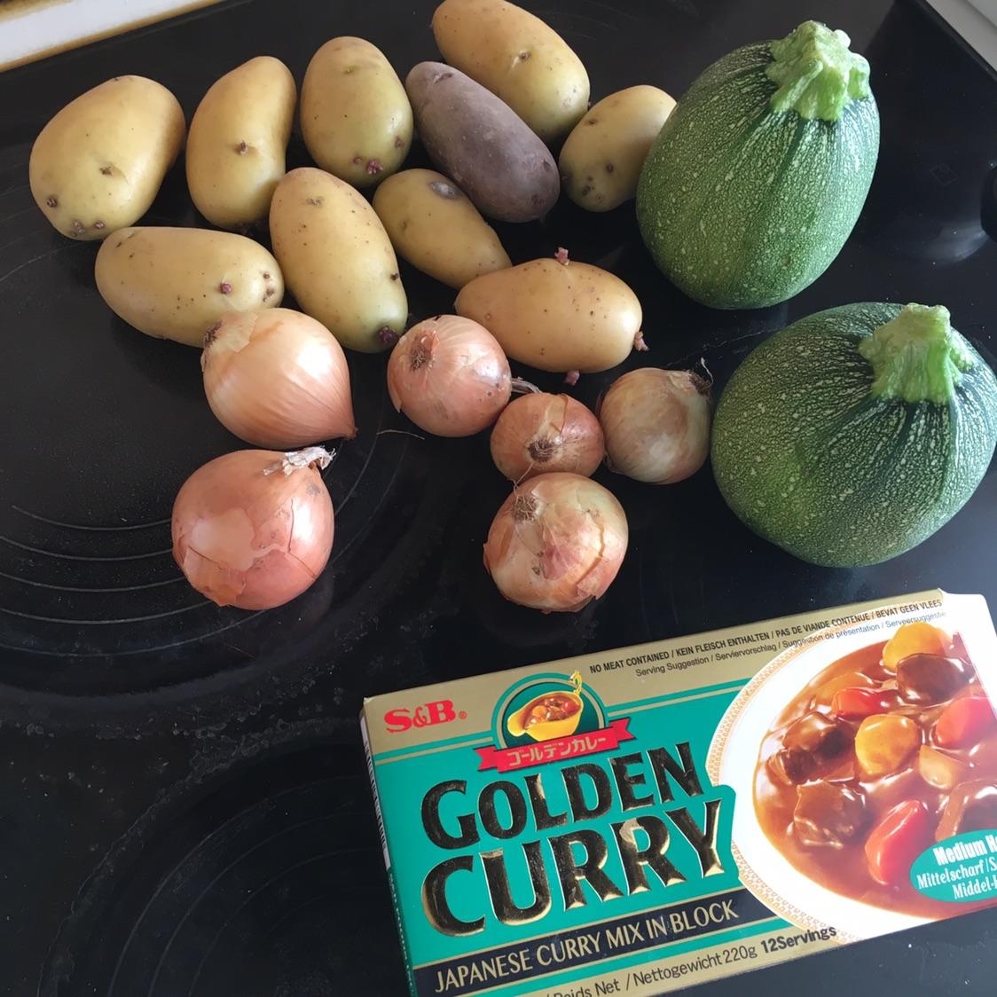 【吃货手作】日式咖喱鸡肉饭 +天妇罗🍤