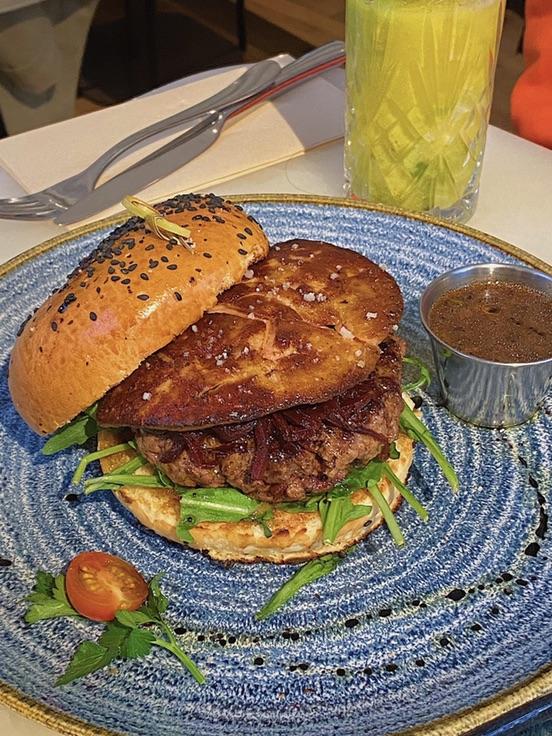 巴黎网红的鹅肝汉堡🍔超真实测评‼️