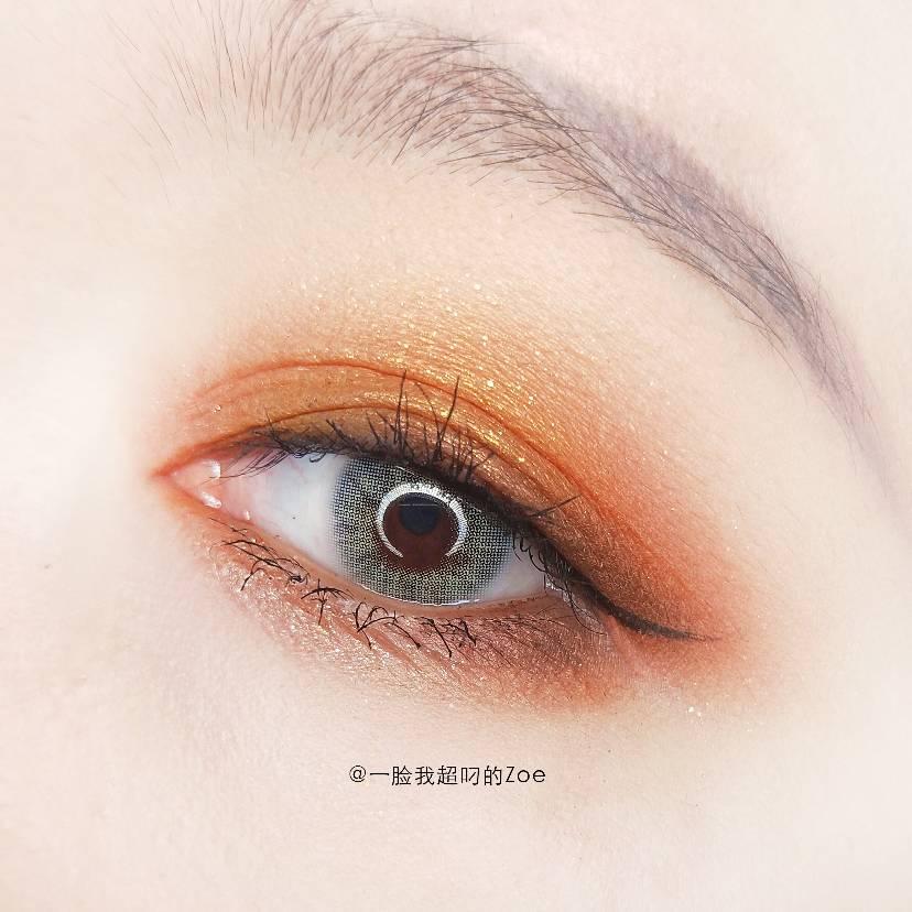 完美日记斑虎眼妆教程|你眼中的灿烂千阳