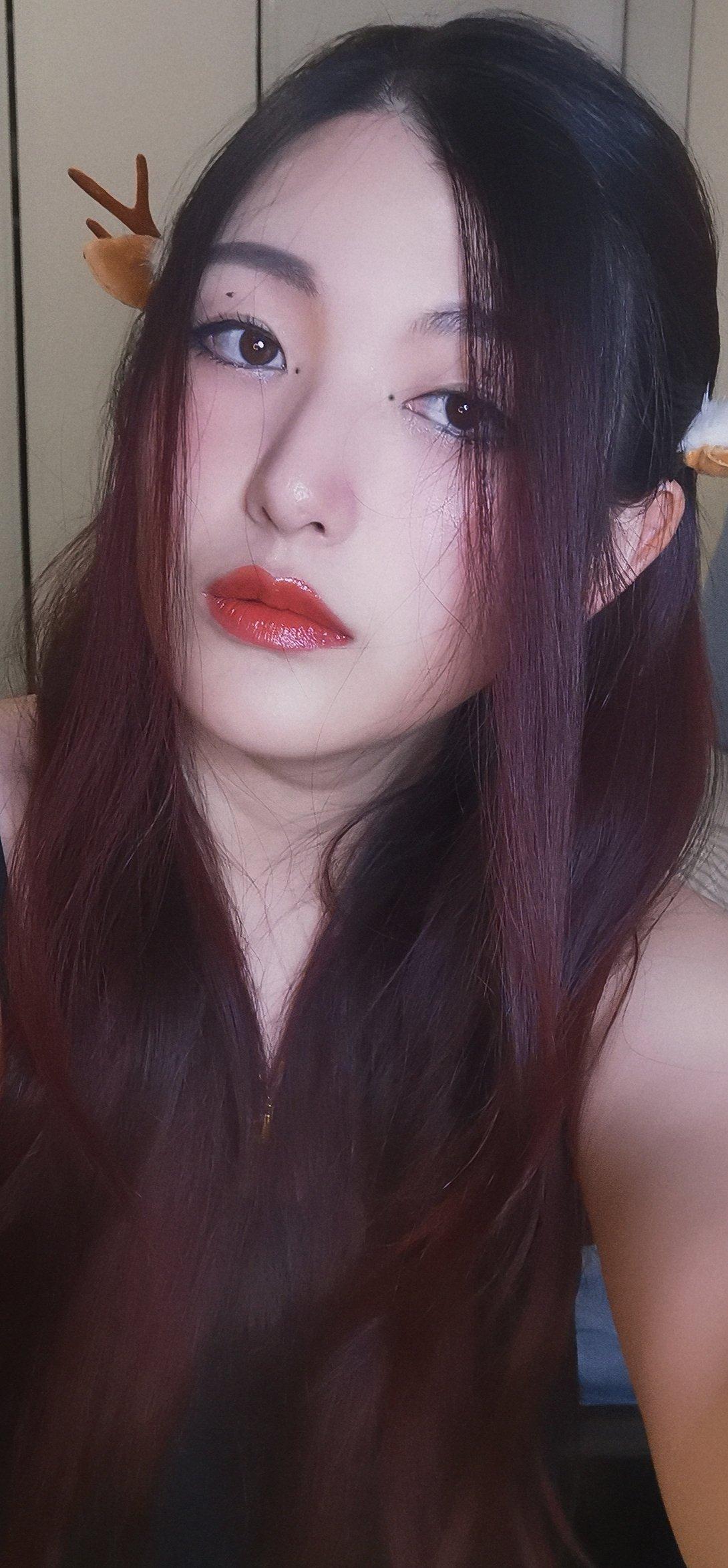 仿女神妆:小黑蝴蝶结🎀的魅力!