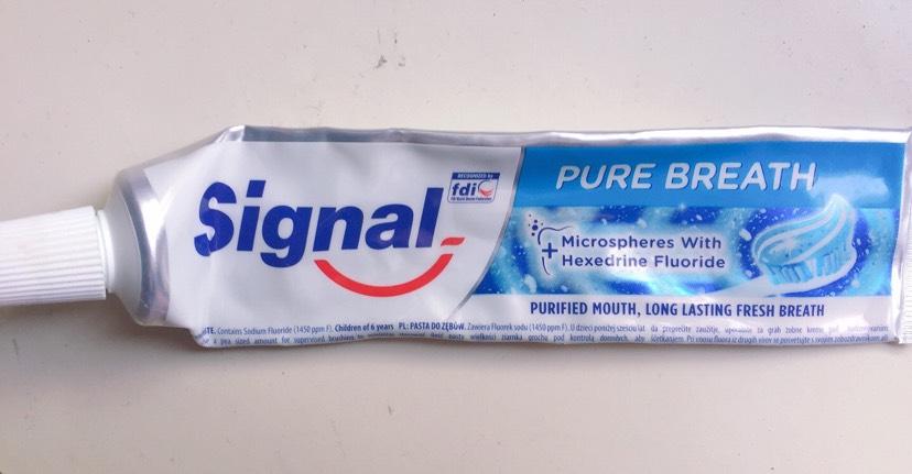 牙膏牙刷们