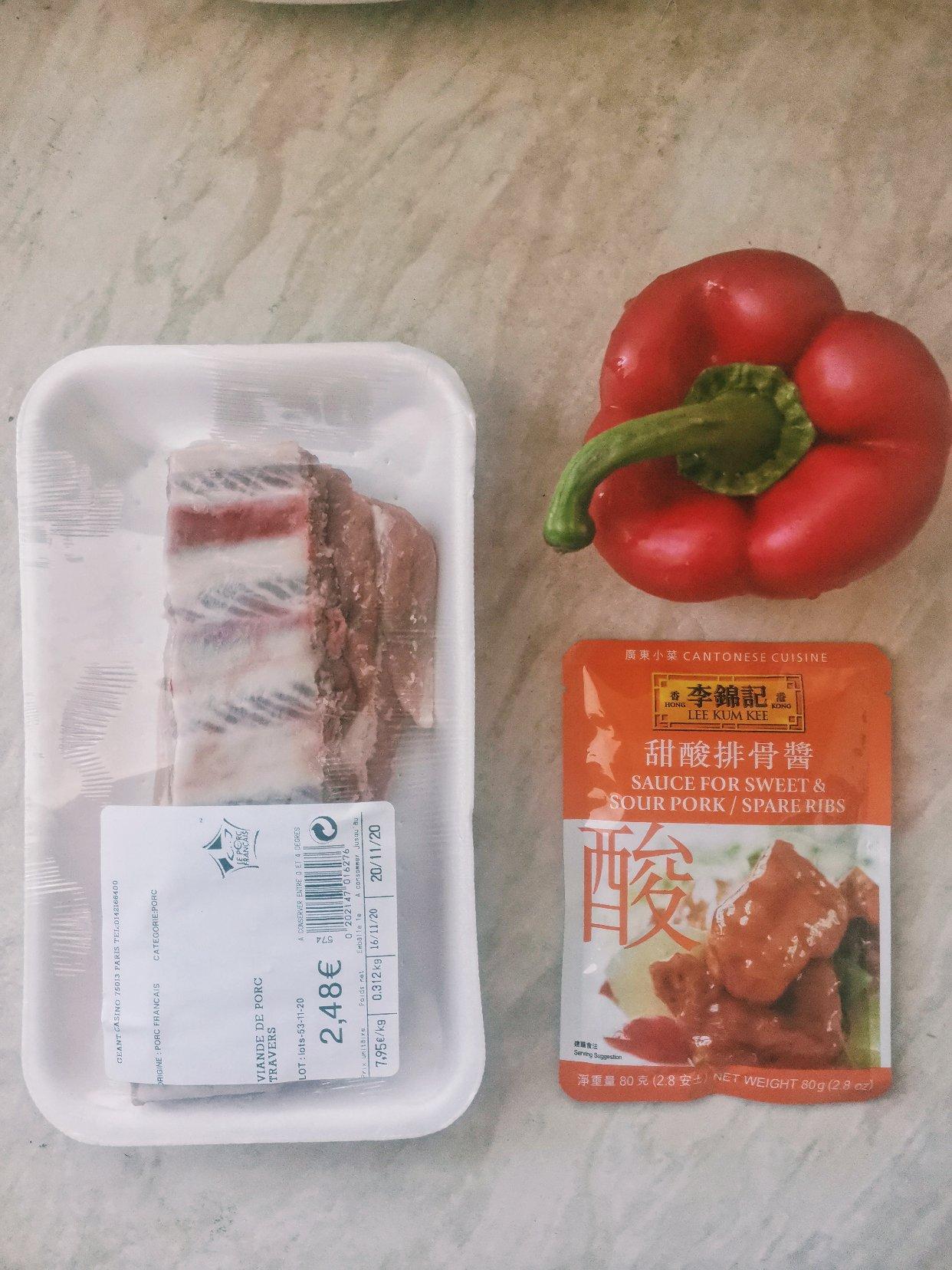 李锦记-酸甜排骨酱绝绝子
